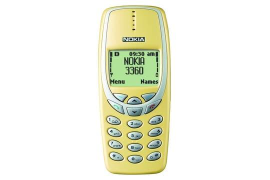 Nokia 3360 (2000).