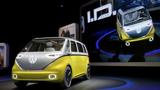 La ID BUZZ fue presentada en el Salón del Automóvil de Detroit