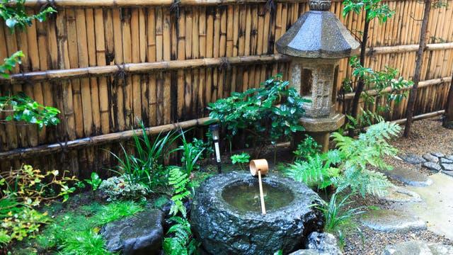 El jardín donde se realiza parte de la ceremonia en verano. Gentileza Airbnb