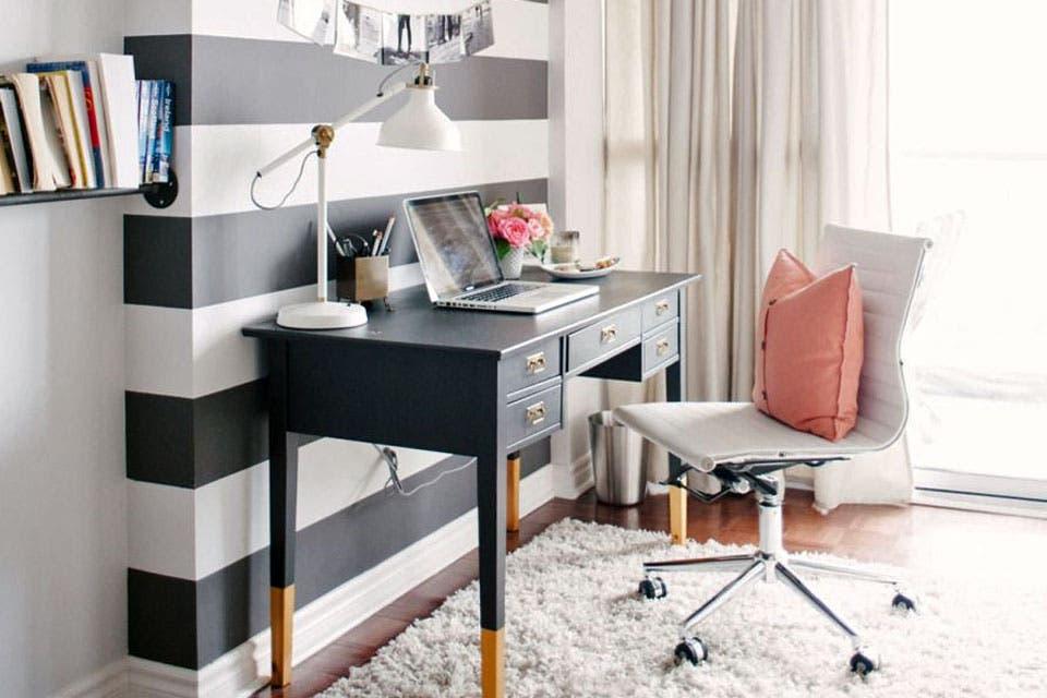 10 propuestas para decorar un escritorio femenino