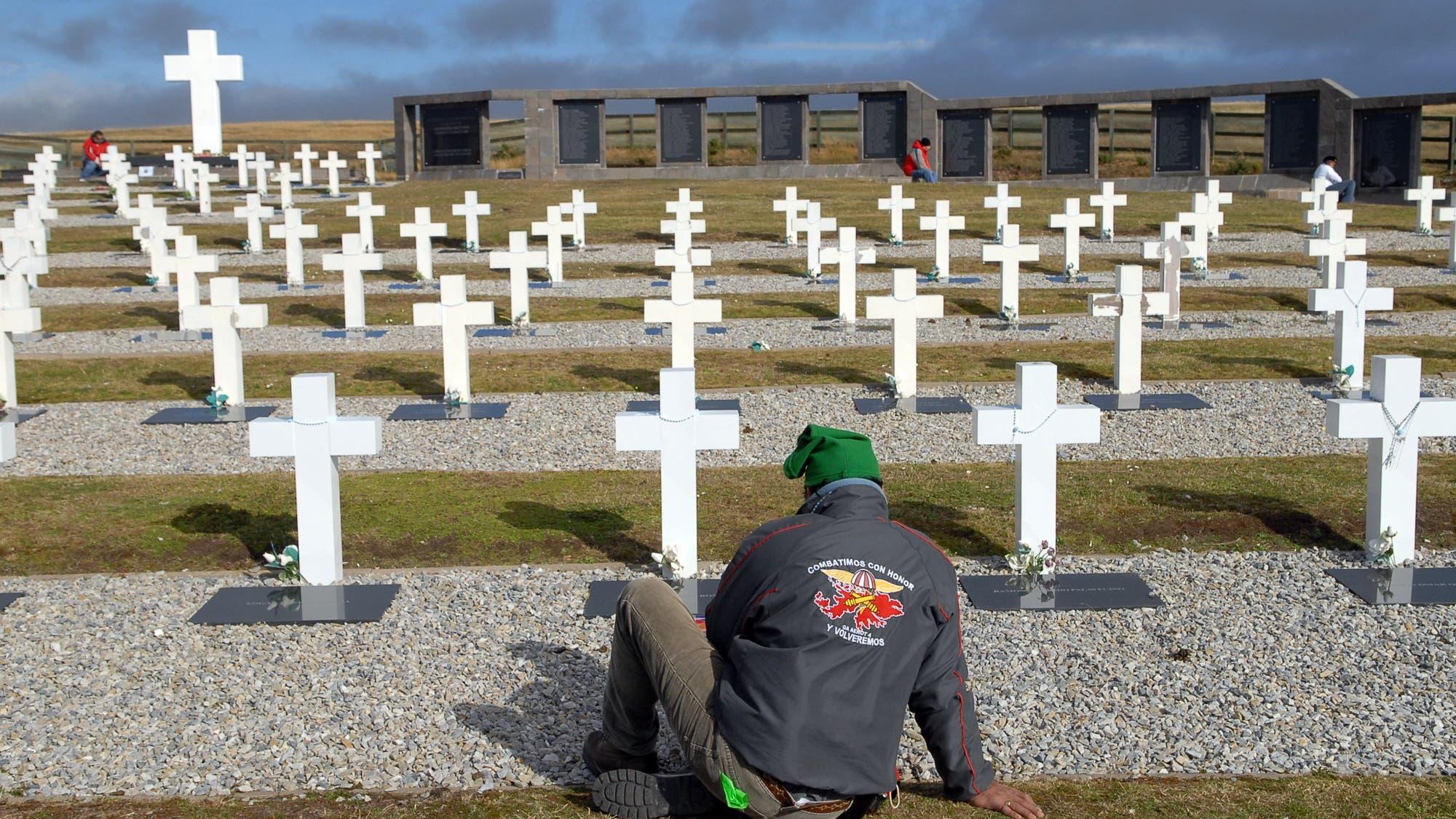 En fotos: a 35 años de la guerra de Malvinas