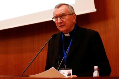 El cardenal Pietro Parolin, secretario de Estado del Vaticano, fue uno de los responsables de las tratativas