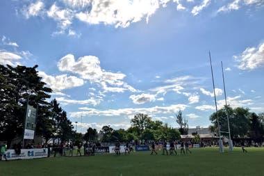 Los Tilos, club platense de rugby, del que surgió Joaquín Tuculet; su tío Gastón es el alma máter del trabajo con chicos de institutos de menores de la zona.