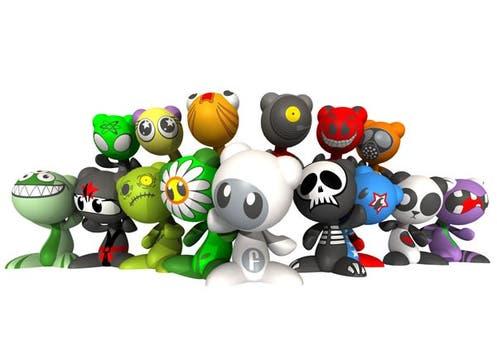 Funkeys Starter Kit: para comenzar la aventura de los pequeños personajes que se conectan a la compu ($149,99, en las principales jugueterías). Foto: lanacion.com