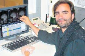 Ramiro Salas, en su laboratorio del Baylor College of Medicine