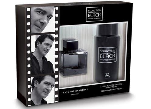 Cofret Seduction In Black: eau de toilette de 100 ml + deo de 150ml; $148. Foto: lanacion.com