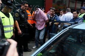 El ladrón es detenido por la Policía Federal en la calle Florida