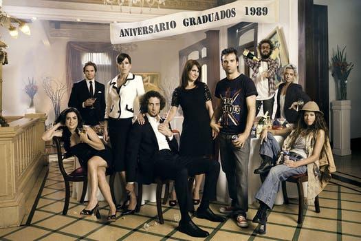 Los mejores momentos de la serie más exitosa de 2012, Graduados. Foto: Prensa Telefé