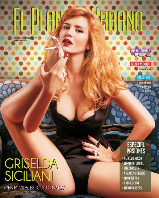 Griselda, muy sexy en la tapa de la revista Planeta Urbano