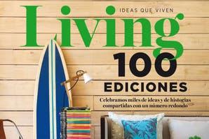LIVING celebra sus 100 ediciones