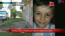 Luciano Alt tenía 6 años y festejaba su cumpleaños