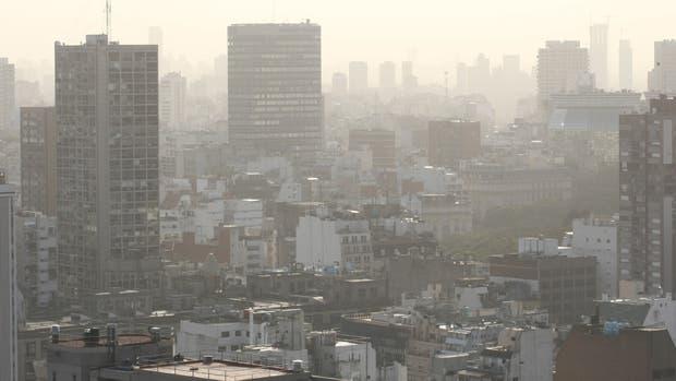 Olor y humo en Buenos Aires