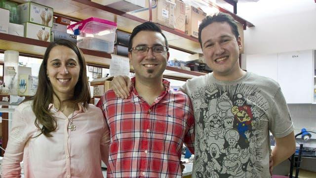 María Eugenia Goya, Carlos Caldart y Andrés Romanowski participaron del experimento