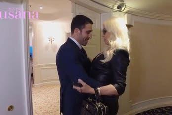 Mirá lo que pasó en el encuentro entre Susana y Miguel Ángel Silvestre