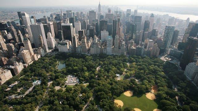 El Central Park desde el aire