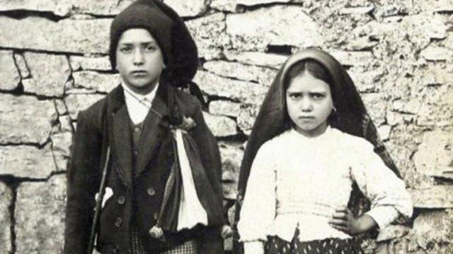 Los dos pastorcitos de Fátima, Jacinta y Francisco Marto