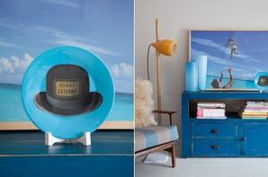 Muebles para darle un toque de color a tu casa