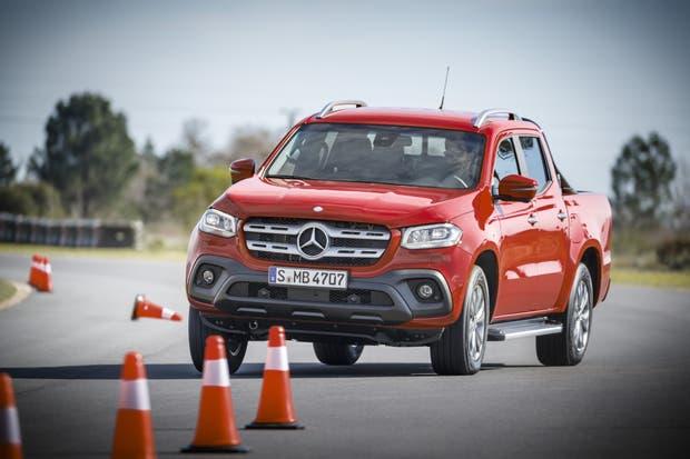 Prueba dinámica de la pickup Mercedes-Benz Clase X
