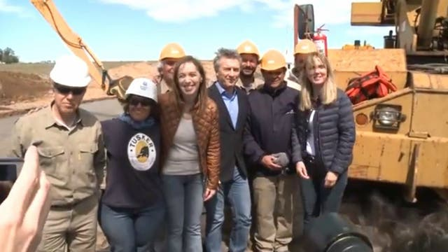 Vidal refuerza la campaña en La Plata y recorre obras hídricas