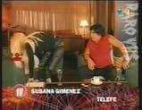 Maradona con Susana Giménez 2004