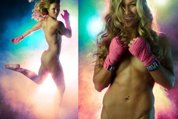 Ronda Rousey, la campeona UFC defenderá su cetro.  /ESPN