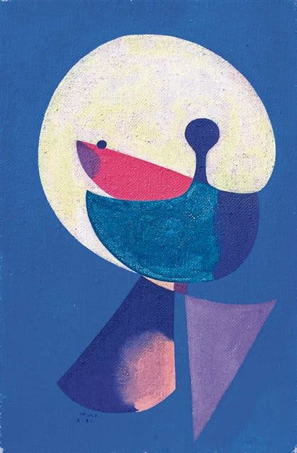 Cabeza de hombre - Miró, 1931