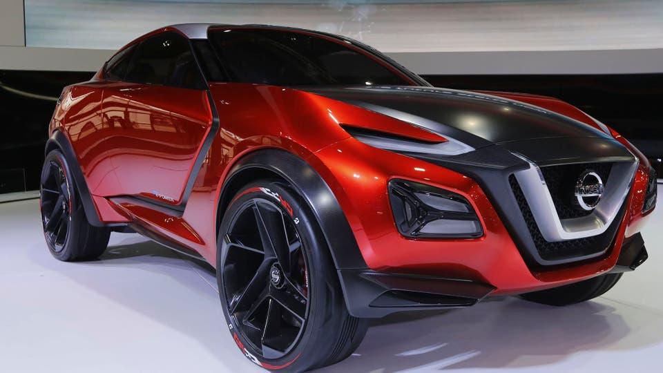 Terminator. El concept de Nissan, el Gripz, exhibe líneas robustas y robóticas, pero a la vez divertidas