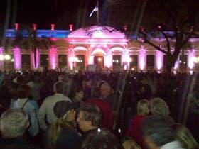 En Posadas, hubo una elevada presencia de manifestantes
