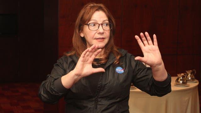 El equipo es comandado por la titular del programa de la Ciencia de la Nasa, la geóloga planetaria Adriana Ocampo