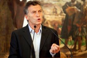 Macri criticó al Gobierno por los cortes de luz.