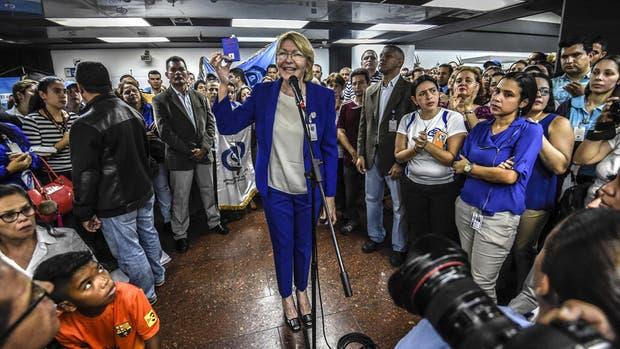 """La fiscal que se reveló al chavismo dijo que Venezuela es """"un Estado de terror"""""""