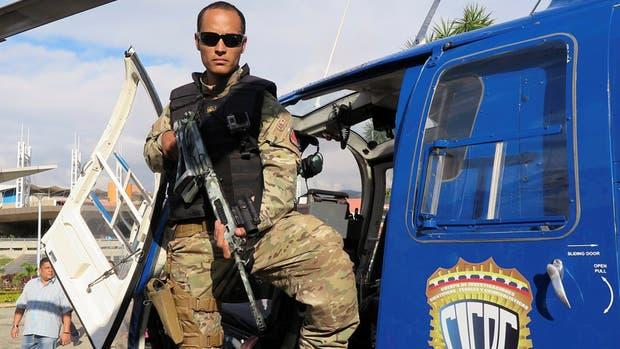 Pérez, en un evento de la policía científica