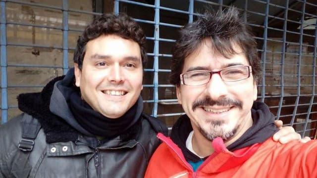 Elio Delgado y Juan Carbone