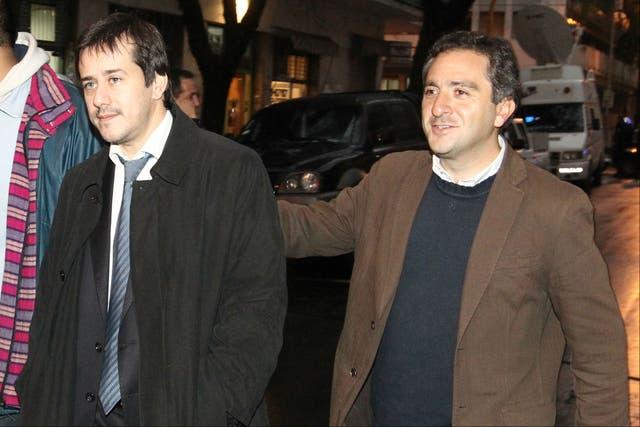 Mariano Recalde y el Cuervo Larroque, en los dos extremos del ranking