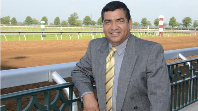 Javier Barajas, de Keeneland, una de las más importantes firmas de venta de caballos de carrera