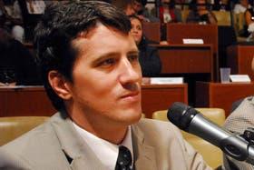 Carlos Gonella, secretario que actúa como fiscal subrogante en la Procelac