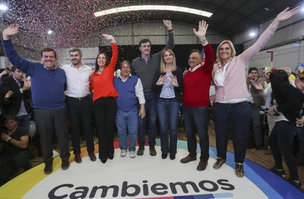 Montenegro, Peña, Vidal, Flores, Bullrich, González, Bagnato y Baragiola, ayer, en Mar del Plata