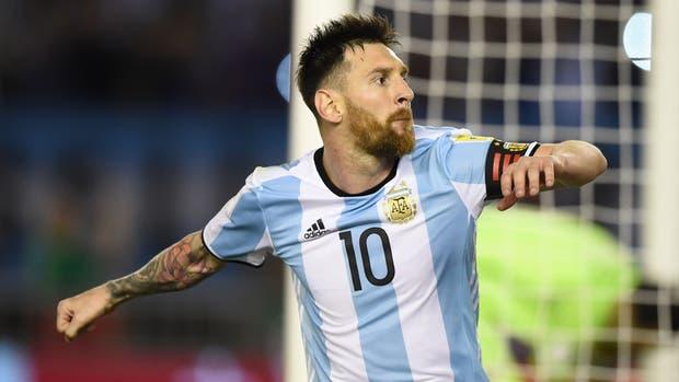 Argentina Vs. Chile 1-0 Messi de penal