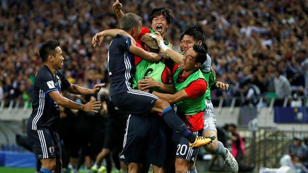 Japón logró su pasaporte al Mundial de Rusia