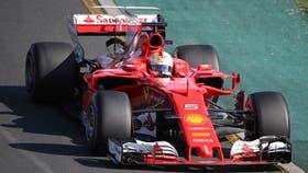 Sebastian Vettel se lleva el podio