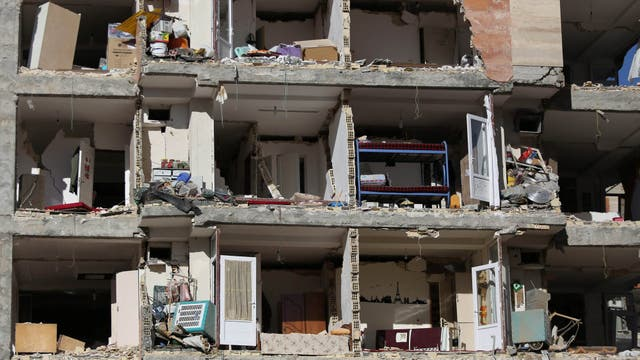 La provincia iraní de Kermanshah, en el oeste del país, fue la más afectada