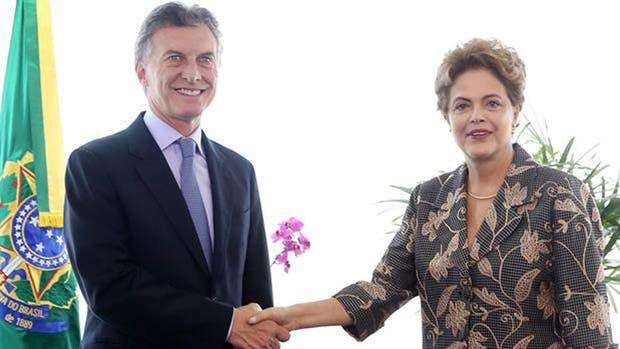 La mandataria brasileña invitó a Macri a la apertura de el evento deportivo del año