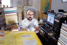 Rafael Cippolini, reconocido ensayista y curador de arte, es uno de los que eligieron el blog como modo de reflexión