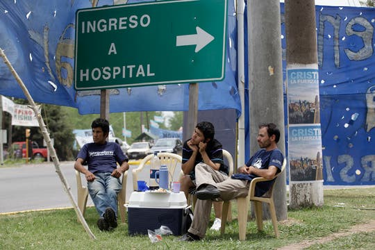 Cristina Kirchner quedará internada durante tres días. Foto: LA NACION / Fernando Massobrio