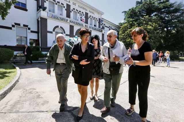 Los familiares recibieron la información en el Archivo Nacional de la Memoria