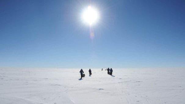 El agujero de ozono está sobre la Antártida