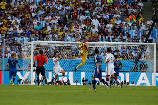 La Argentina perdió con Alemania 1-0 en la final. Foto: LA NACION / Fabián Marelli / Enviado especial