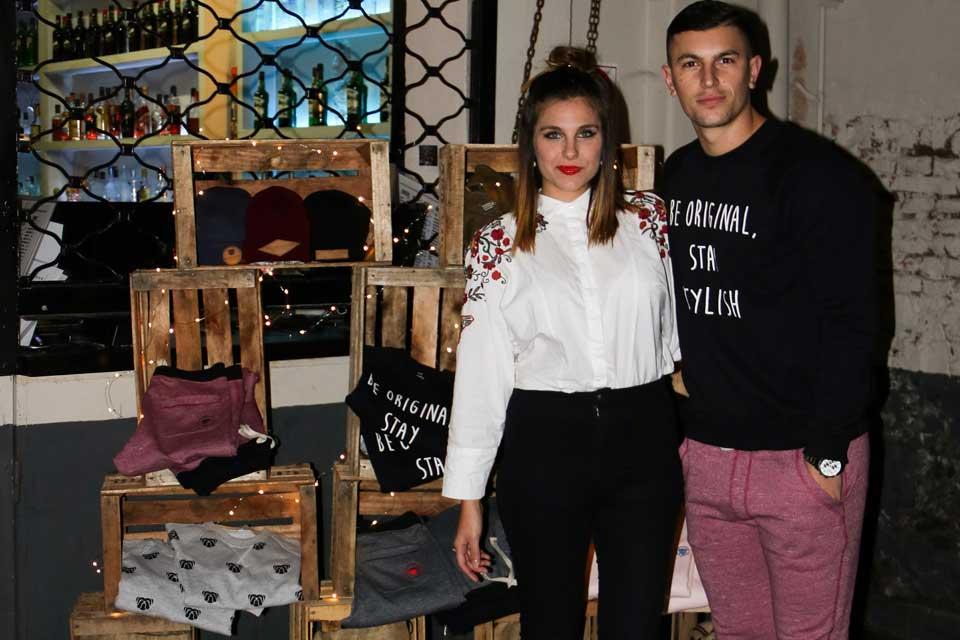 Ivana Icardi y Luifa Galesio en el evento de Bucamaranga . Foto: gentileza Prensa