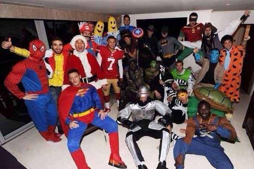 La fiesta de todos. Foto: Daily Mail