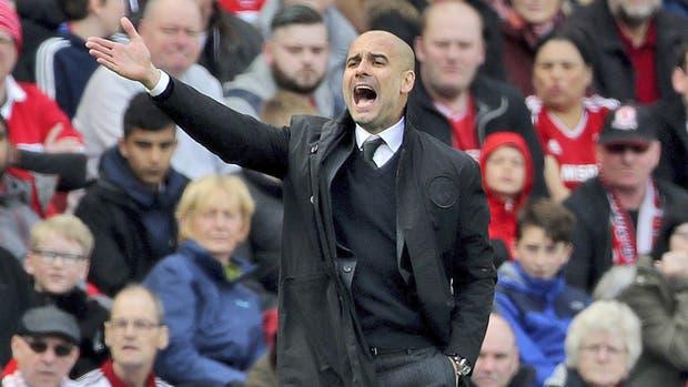 Gane o pierda, Guardiola vive los partidos intensamente